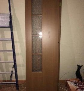 Двери межкомнатные двухстворчатые