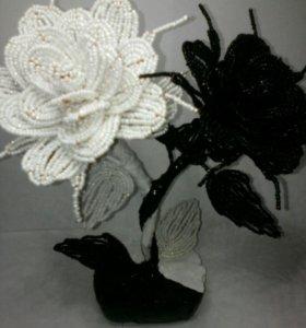 Розы Инь Янь