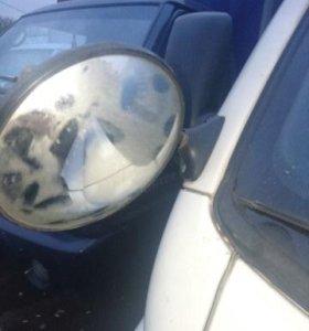 Разбор хендай портер 2. Парковочное зеркало бу