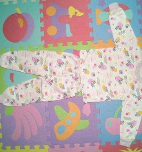 Пижамы детская, файловая, 100% хлопок