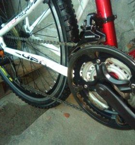 Велосипед горный двухподвес 21 скорость