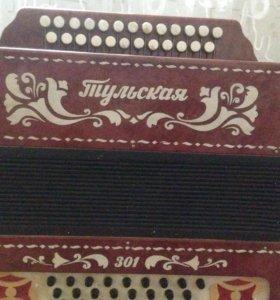 """Гармонь """"ТУЛЬСКАЯ"""" 301"""