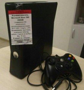 ИГРОВАЯ КОНСОЛЬ MICROSOFT XBOX 360E 250GB (2 ДИСКА
