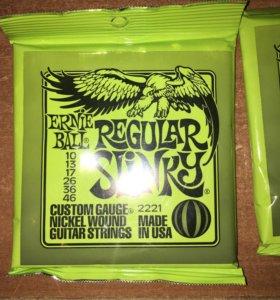 Струны Ernie Ball Regular Slinky 2221 (10-46) USA