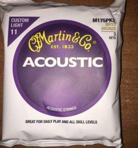 Струны Martin&Go Bronze 80/20 3 Set 11-52 USA