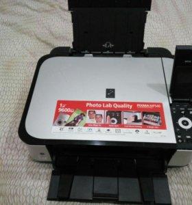 Принтер, сканер, копир. Canon mp 540