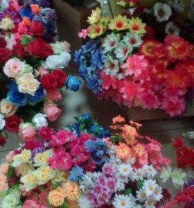 Ликвидация! Искусственные  цветы (опт и розница)