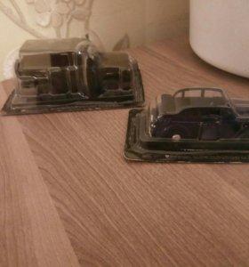 Масштабные модели. Автолегенды СССР