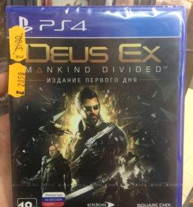 Deus Ex. Mankind Divided (PS4)