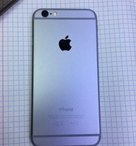 IPhone 6-64GB space gray