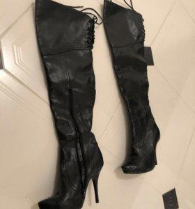 Туфли ботфорты