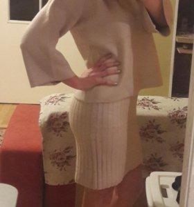 Костюм двойка платье кофта