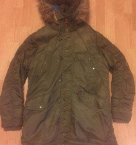 Куртка  зимняя парка размер хл