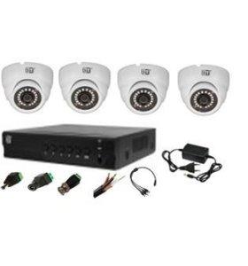 Комплект видеонаблюдения для помещений