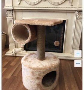 Кошачий домик новый