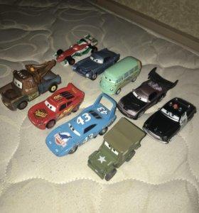 Машинки из мультика «Тачки»