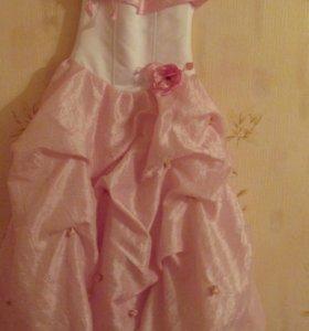 Платье для девочек лет 8-12