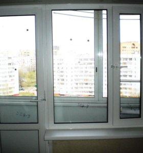 Пластиковые окна, двери, витражи, балконы
