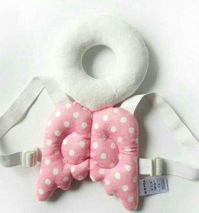 Детская защита ангел розовая для детей на спину