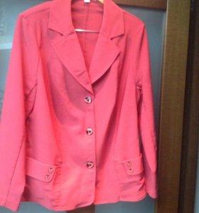 Новый пиджак 50-52 размер