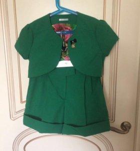 Болеро и шорты для девочки