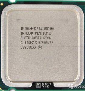 Процесоры Intel 2ядра S775 E3400 E5400