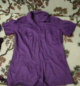 Рубашки женские 48р