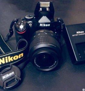 Nikon D5100 почти новый