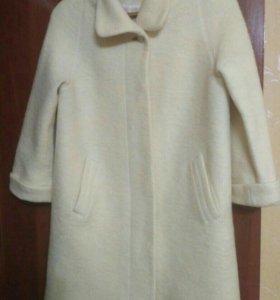 Продам шерстяное пальто (46-48)