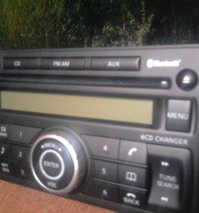 Авто-магнитола Nissan X-Trel штатная