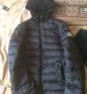 Новая куртка stone island