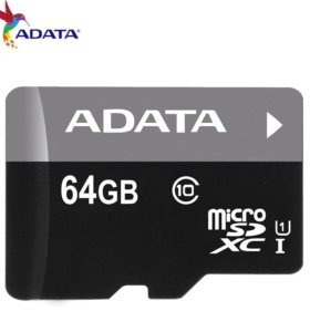 Adata micro sd card 64 Gb