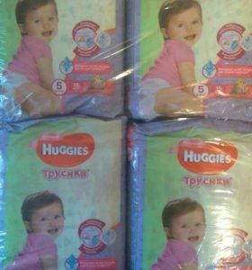 Подгузники -трусики Huggies Disney