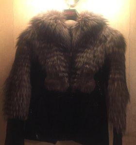 Куртка из меха Чернобурки