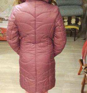 Зимнее пальто рост 158