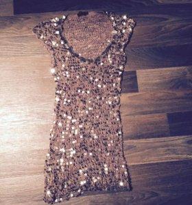 Платье, блузка с поедками