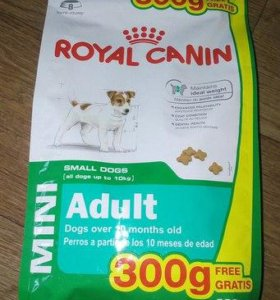 Продам Royal Canin Mini Adult для собак 500+ 300