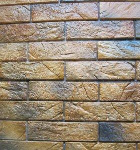 Декоративный камень гипсовый Серия Кирпичики