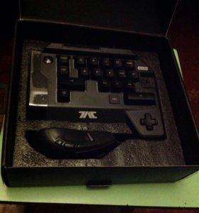 Клавиатура и мышь Hori tac