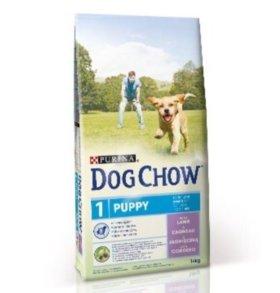 Корм для щенков Dog Chow