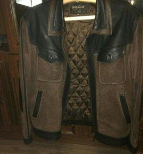 Мужская куртка из свиной кожи.Размер 4Xl.