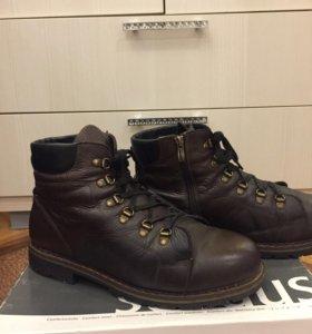 Зимние ботинки(натуральная кожа)