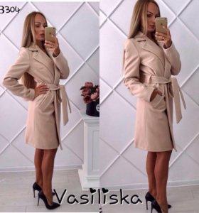 Новое Женское кашемировое пальто 42-44