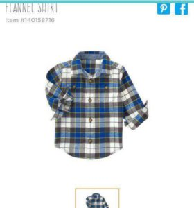 Рубашка джимбори новая