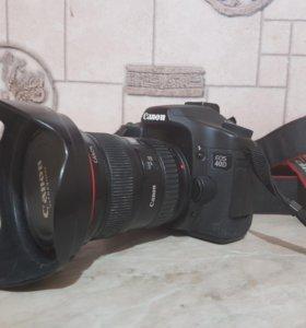 Canon ESO 40D + Canon EW-83E