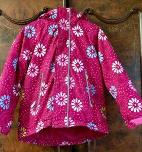 Зимняя куртка для девочки reuma