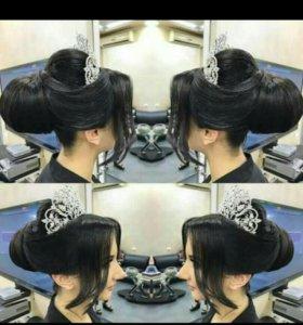 Стрижка, причёска, макияж