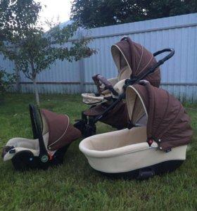 Детская коляска Tutis Zippy NEW Natural 3 в 1