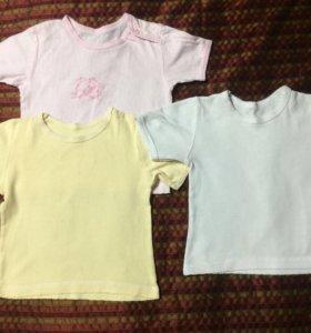Детская одежда Футболки 1,5-2 года за все