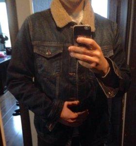 Джинсовая куртка мужская xxl